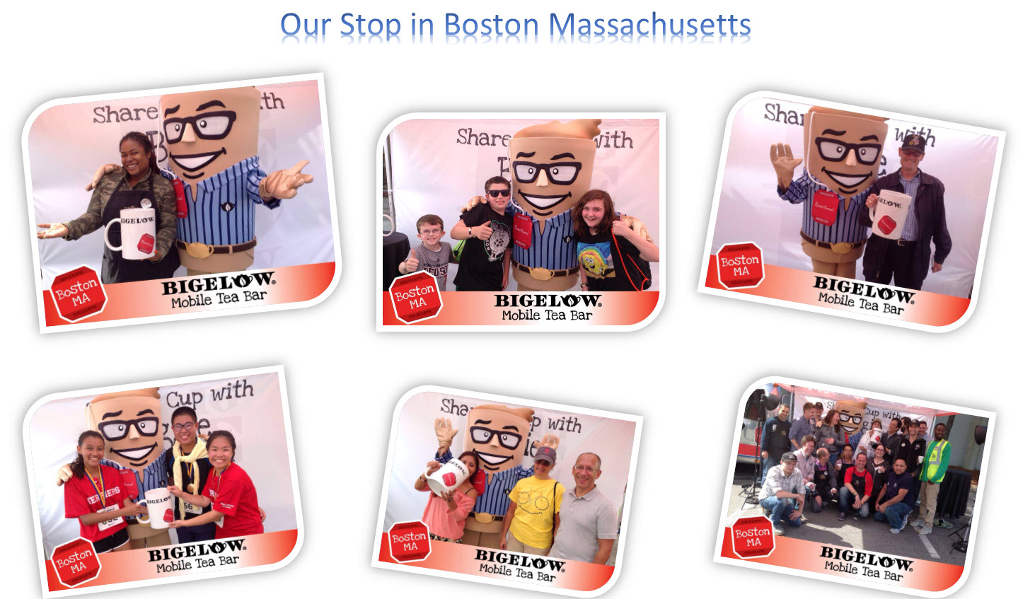 Our stop pics in Boston Massachusetts