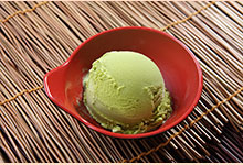 Green Tea Lemon Ice Cream