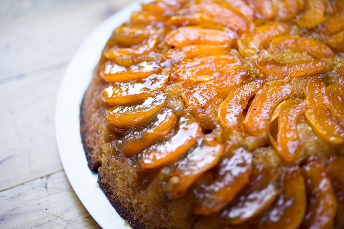 Perfect Peach Upside-Down Cake