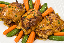 Chamomile Braised Chicken