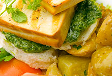 Colorful Grilled Tofu Sandwiches