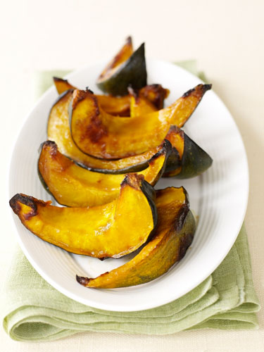 Maple and Miso Glazed Squash