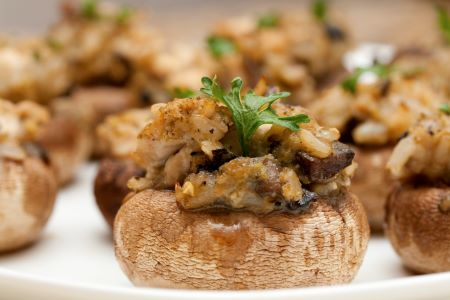 Earl Grey Marinated Portobello Mushrooms