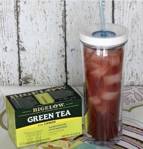 Strawberry Iced Green Tea