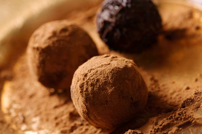 Jasmine Green Tea Truffles