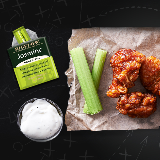 Jasmine Green Tea Chicken Wings
