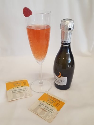 Perfect Peach Bellini
